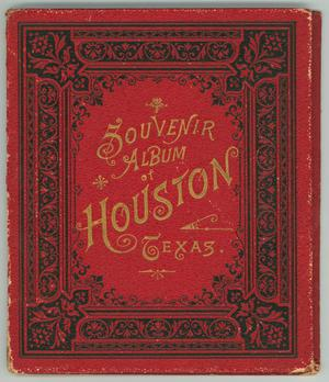 Primary view of object titled 'Pamphlet: Souvener Album of Houston, Texas.'.