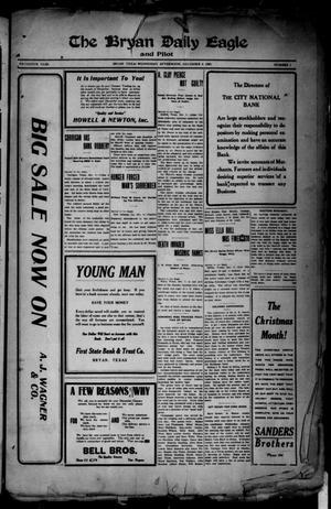 The Bryan Daily Eagle and Pilot (Bryan, Tex.), Vol. FIFTEENTH YEAR, No. 1, Ed. 1 Wednesday, December 8, 1909