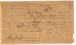 Primary view of Washington County legal documents