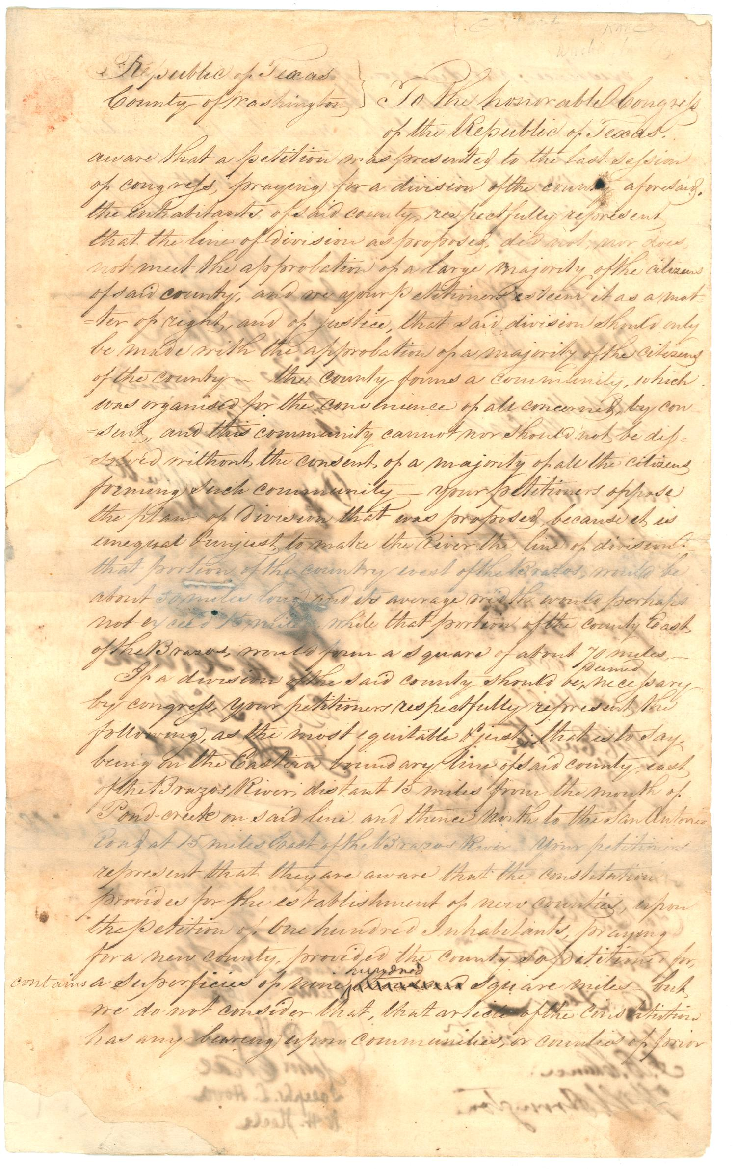 Washington County  legal documents                                                                                                      [Sequence #]: 1 of 8
