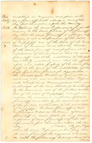 Primary view of object titled 'Washington County documents'.