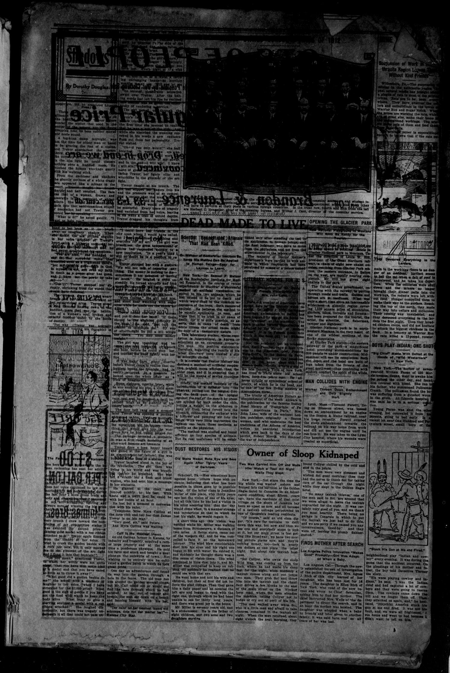 The Bryan Daily Eagle and Pilot (Bryan, Tex.), Vol. 17, No. 178, Ed. 1 Monday, July 1, 1912                                                                                                      [Sequence #]: 3 of 6