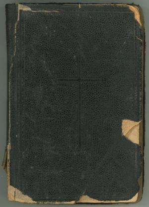 Primary view of object titled 'Excerpta Ex Ritual, Romano Pro Administratione Sacramentorum...'.