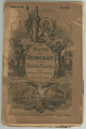 "Primary view of object titled '""The History of Democracy in the United States""'."