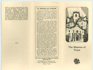 Primary view of object titled 'The Missions of Texas'.