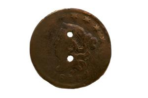 Primary view of object titled 'Coin'.
