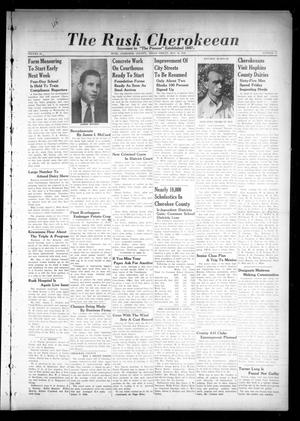 The Rusk Cherokeean (Rusk, Tex.), Vol. 94, No. 15, Ed. 1 Friday, May 10, 1940