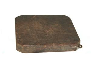 Primary view of object titled 'Cutting board'.