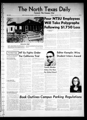 Primary view of object titled 'The North Texas Daily (Denton, Tex.), Vol. 53, No. 34, Ed. 1 Tuesday, February 17, 1970'.