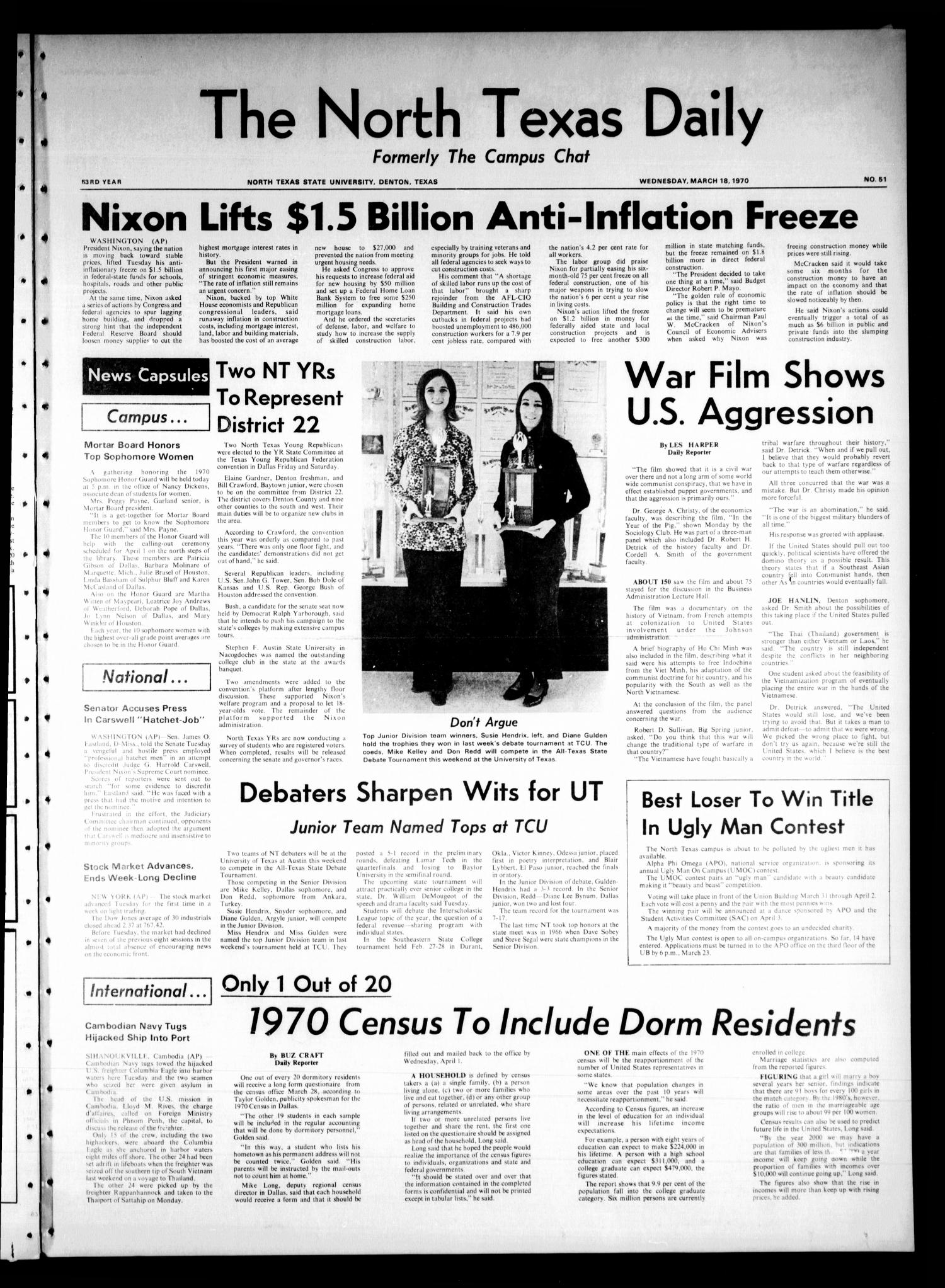 march 18 1970