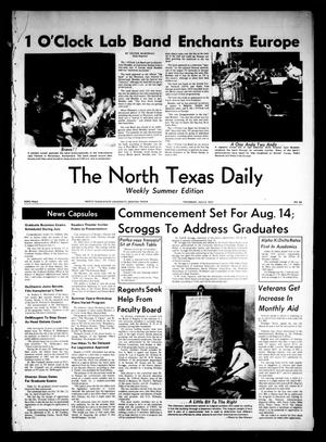 Primary view of object titled 'The North Texas Daily (Denton, Tex.), Vol. 53, No. 86, Ed. 1 Thursday, July 2, 1970'.