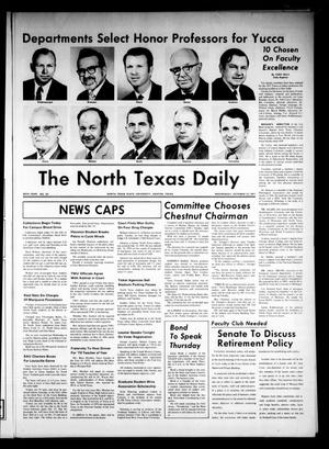 Primary view of object titled 'The North Texas Daily (Denton, Tex.), Vol. 55, No. 13, Ed. 1 Wednesday, October 13, 1971'.