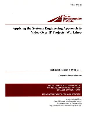 Primary view of object titled 'Applying the systems engineering approach to video over IP projects'.