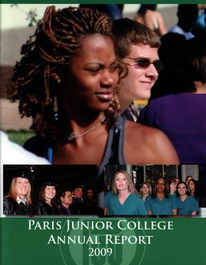 Primary view of object titled 'Paris Junior College Annual Report: 2009'.