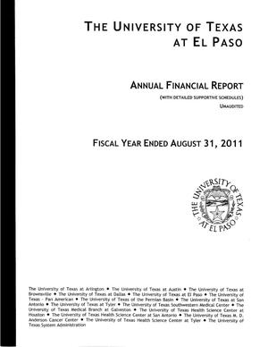 Primary view of object titled 'University of Texas at El Paso, Annual Financial Report: 2011'.