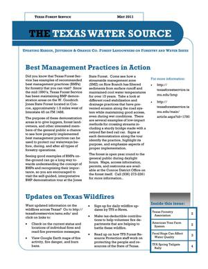 The Texas Water Source, May 2011