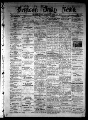 Primary view of object titled 'Denison Daily News. (Denison, Tex.), Vol. 5, No. 276, Ed. 1 Sunday, January 20, 1878'.