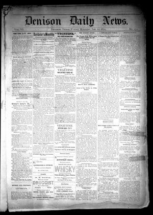 Primary view of object titled 'Denison Daily News. (Denison, Tex.), Vol. 6, No. 272, Ed. 1 Friday, January 10, 1879'.