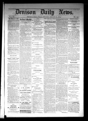 Primary view of object titled 'Denison Daily News. (Denison, Tex.), Vol. 6, No. 290, Ed. 1 Friday, January 31, 1879'.