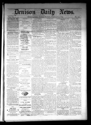Primary view of object titled 'Denison Daily News. (Denison, Tex.), Vol. 6, No. 298, Ed. 1 Sunday, February 9, 1879'.