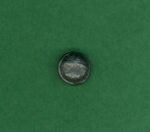 Primary view of object titled 'Lead button'.