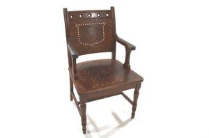 Primary view of object titled 'Senate armchair'.