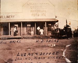 Primary view of object titled 'Lucas and Joffre Store'.