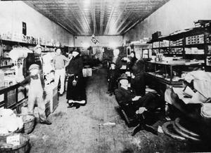 Primary view of object titled 'Pierce and Ramsey Store - Interior'.