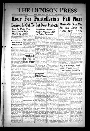 The Denison Press (Denison, Tex.), Vol. 14, No. 38, Ed. 1 Friday, June 11, 1943