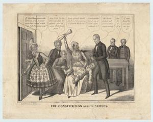 "Primary view of object titled '""The Constitution and its Nurses""'."