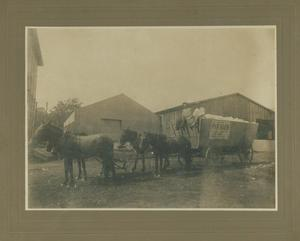 Primary view of object titled 'Cotton wagon'.