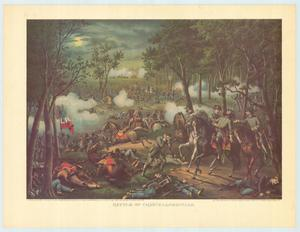 "Primary view of object titled '""Battle of Chancellorsville""'."