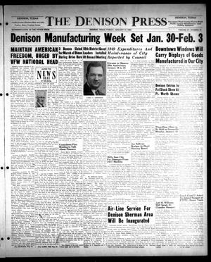The Denison Press (Denison, Tex.), Vol. 21, No. 29, Ed. 1 Friday, January 13, 1950