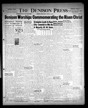 Primary view of object titled 'The Denison Press (Denison, Tex.), Vol. 21, No. 41, Ed. 1 Friday, April 7, 1950'.