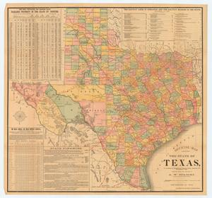 "Primary view of object titled '""Official Map of the State of Texas""'."