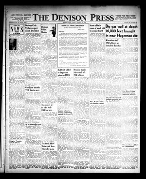 Primary view of object titled 'The Denison Press (Denison, Tex.), Vol. 32, No. 27, Ed. 1 Friday, January 15, 1960'.