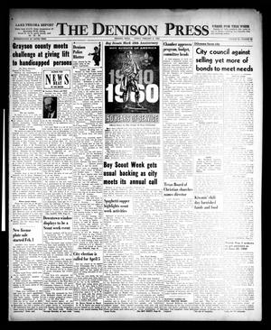 Primary view of object titled 'The Denison Press (Denison, Tex.), Vol. 32, No. 30, Ed. 1 Friday, February 5, 1960'.