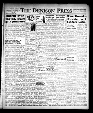 Primary view of object titled 'The Denison Press (Denison, Tex.), Vol. 32, No. 32, Ed. 1 Friday, February 19, 1960'.