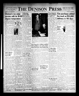 Primary view of object titled 'The Denison Press (Denison, Tex.), Vol. 32, No. 34, Ed. 1 Friday, March 4, 1960'.