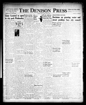 Primary view of object titled 'The Denison Press (Denison, Tex.), Vol. 32, No. 47, Ed. 1 Friday, June 3, 1960'.