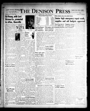 Primary view of object titled 'The Denison Press (Denison, Tex.), Vol. 32, No. 50, Ed. 1 Friday, June 24, 1960'.