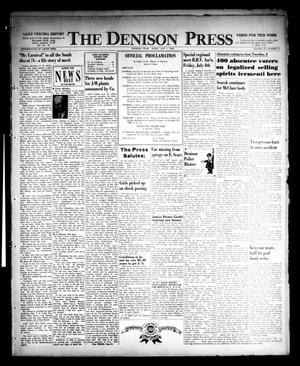 Primary view of object titled 'The Denison Press (Denison, Tex.), Vol. 32, No. 51, Ed. 1 Friday, July 1, 1960'.