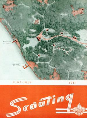 Primary view of Scouting, Volume 39, Number 6, June-July 1951