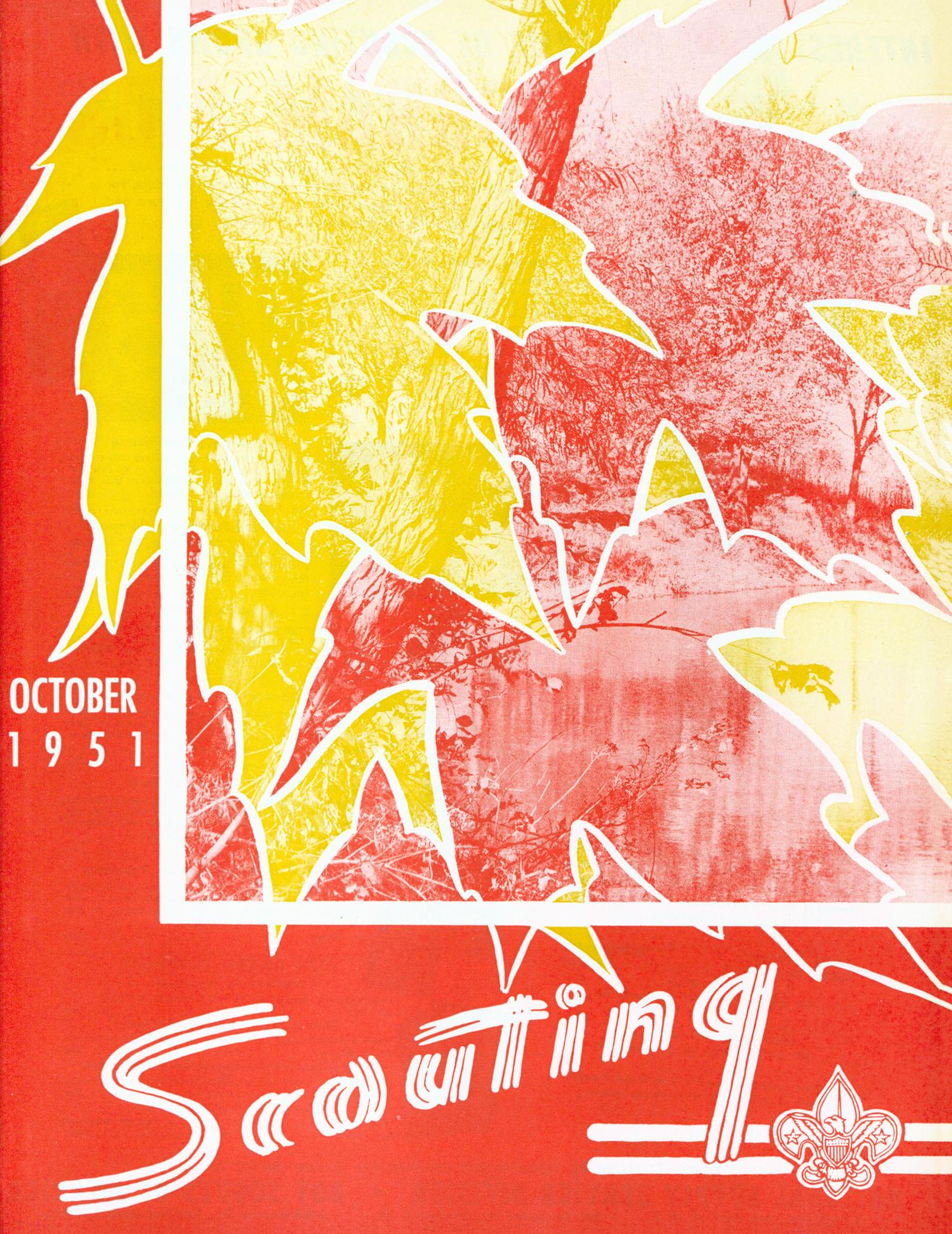 Scouting, Volume 39, Number 8, October 1951                                                                                                      Front Cover
