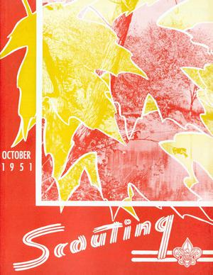 Primary view of object titled 'Scouting, Volume 39, Number 8, October 1951'.