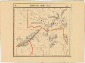 "Primary view of object titled '""Amer. Sep. Partie des Etats-Unis No. 55""'."