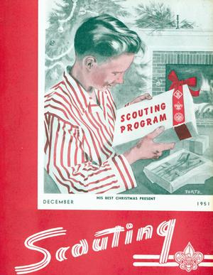 Primary view of Scouting, Volume 39, Number 10, December 1951