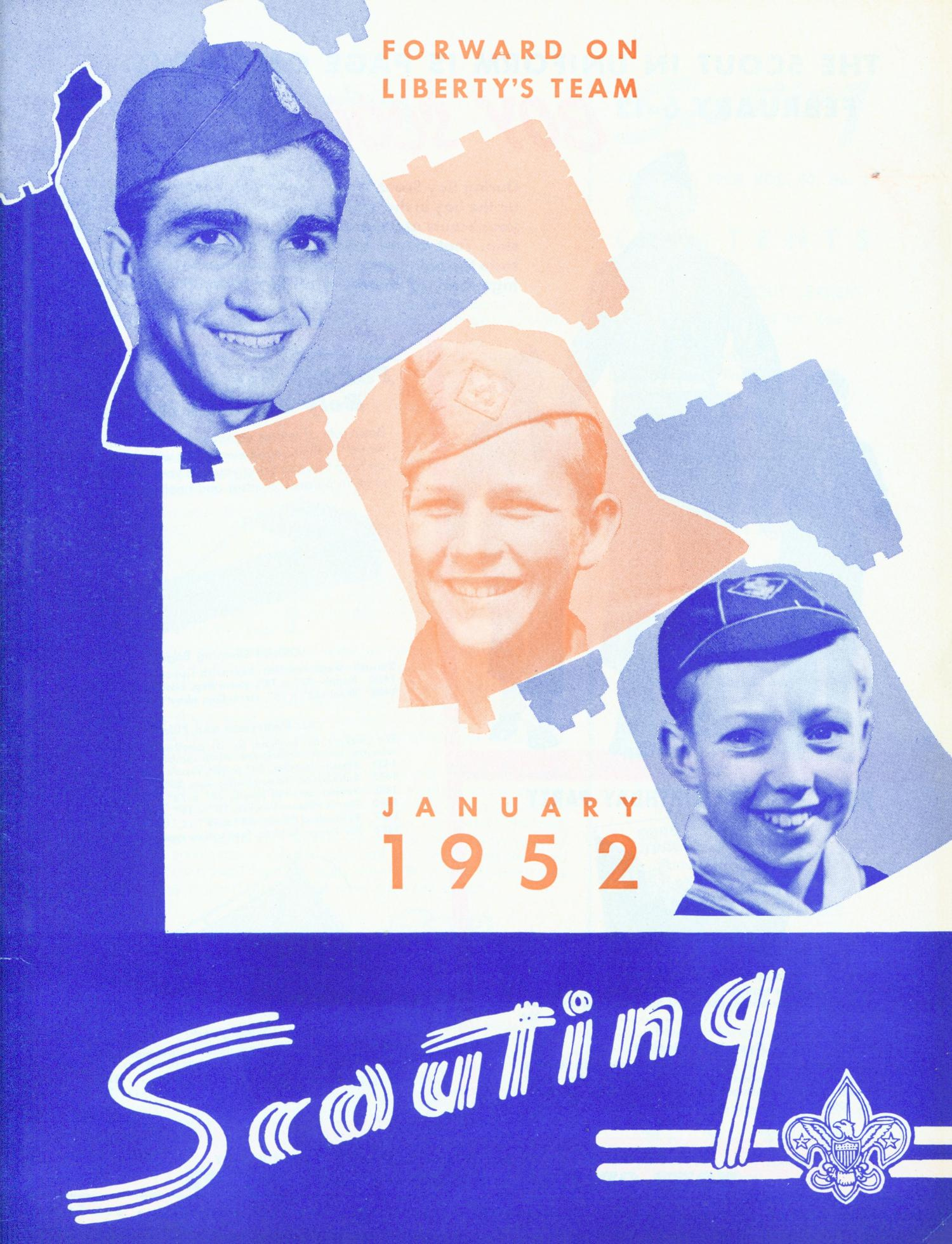 Scouting, Volume 40, Number 1, January 1952                                                                                                      Front Cover