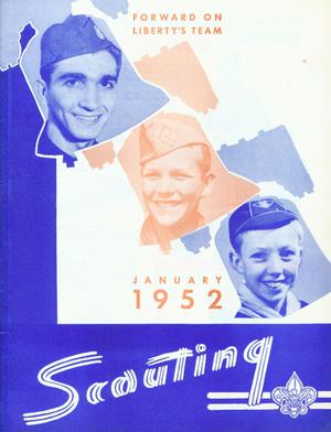 Scouting, Volume 40, Number 1, January 1952