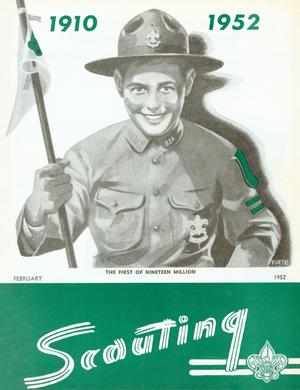 Scouting, Volume 40, Number 2, February 1952